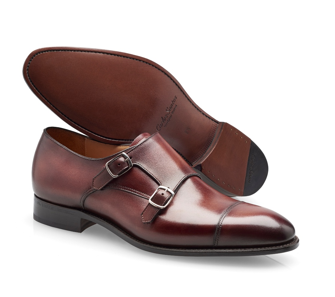 Double Buckle Shoes - Andrew Wine Shadow